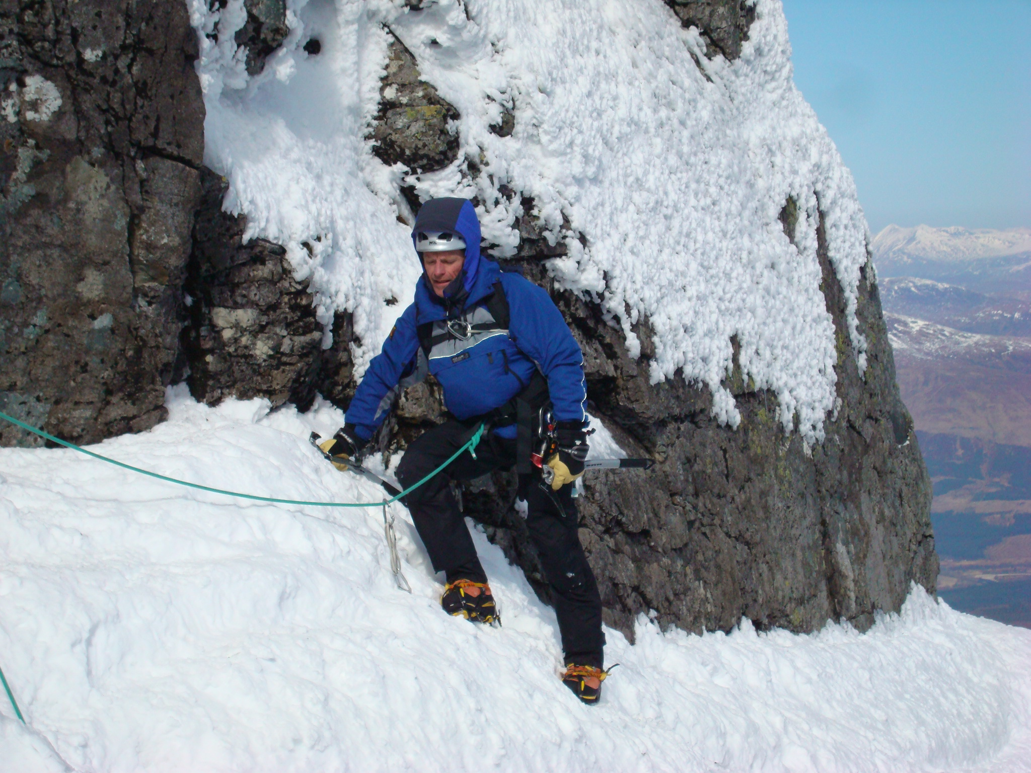 Eastern Traverse, Tower Ridge, Chris Upton