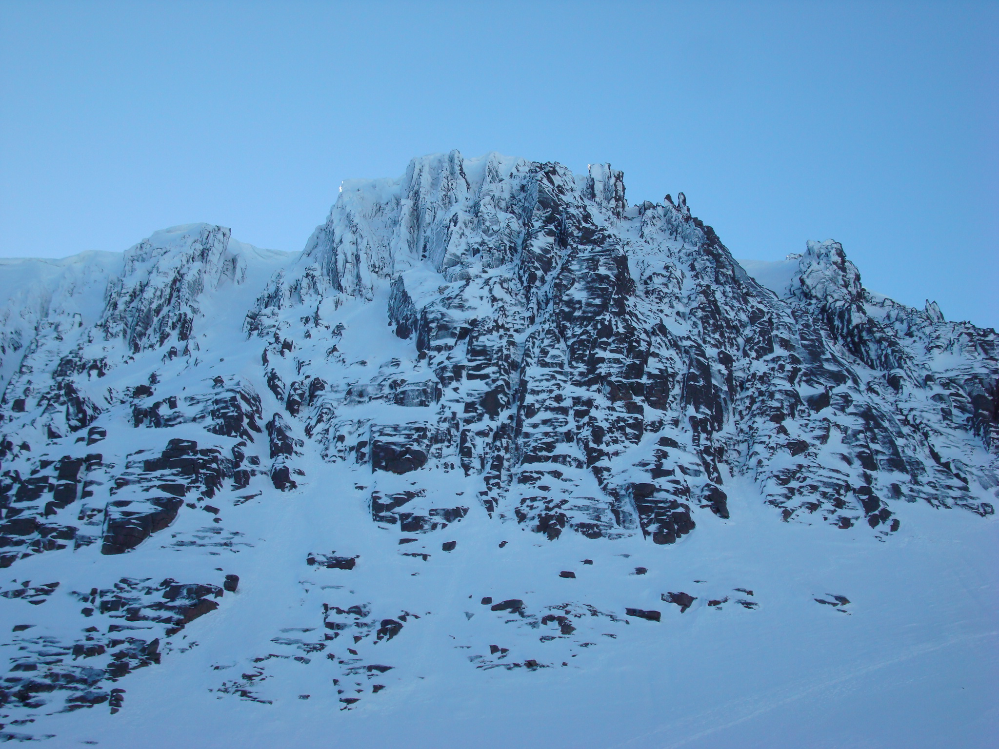 Fluted Buttress, Coire an t,Sneachda